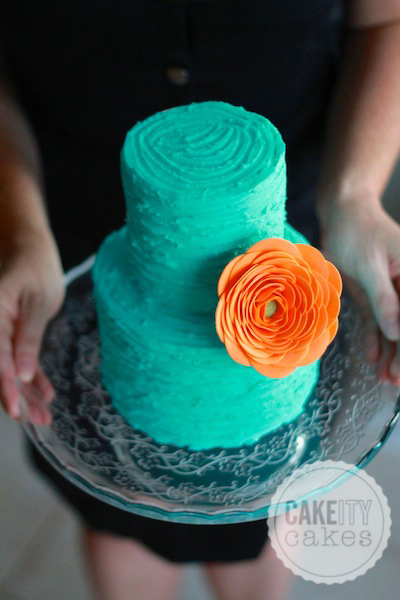 teal and tangerine � cakeity cakes
