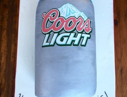 Coors Light Cake