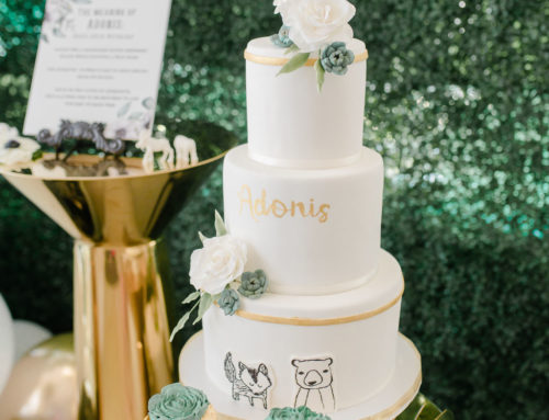 Modern Woodland baby shower