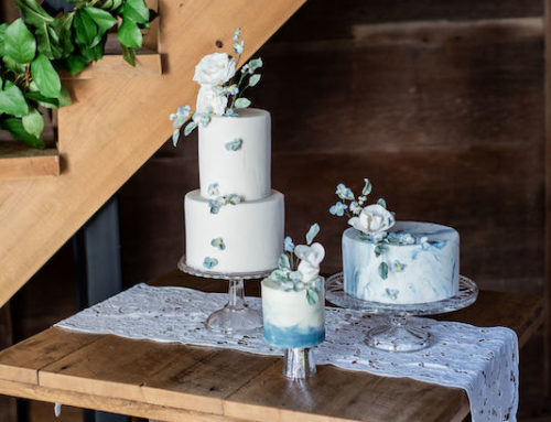 Wedding Cake Trio – Emily Christine Photography